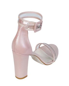Bianca Buccheri EP08bb Sapri Sandal Pink back view