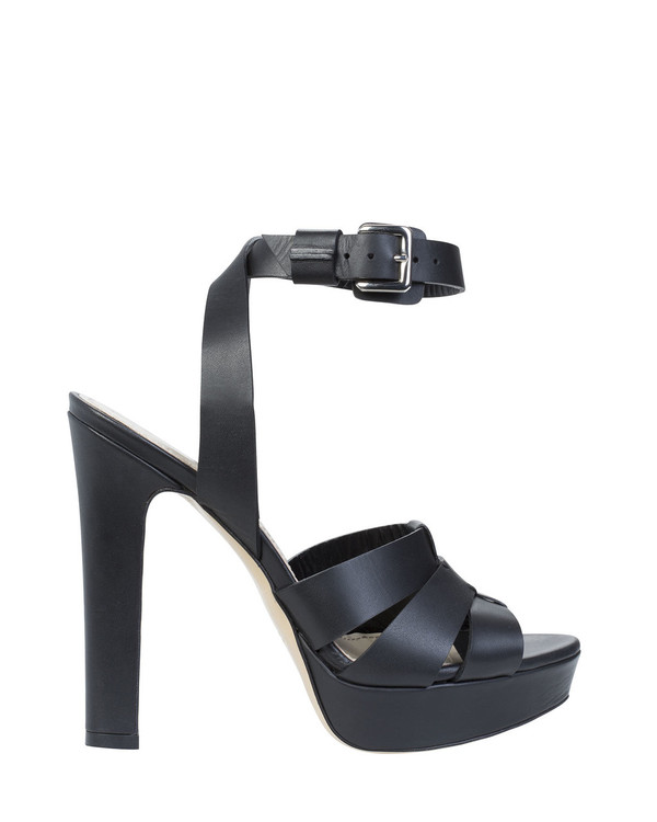 Bianca Buccheri 2606bb Polina Sandal Black side view