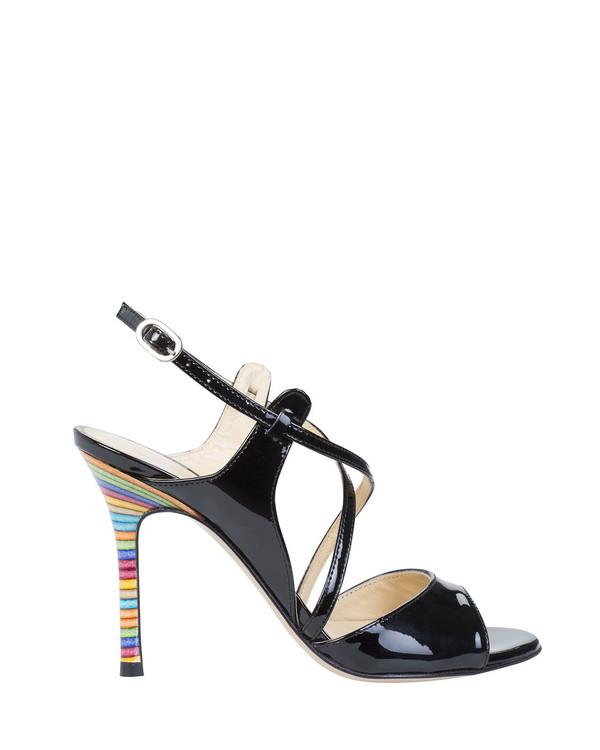 Bianca Buccheri 6030Cbb Sian Sandal Black side view