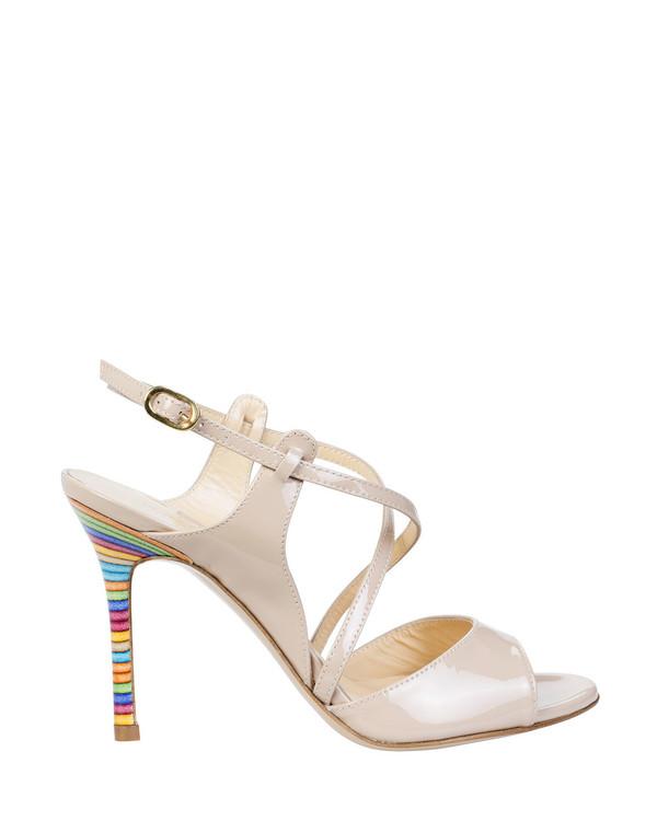 Bianca Buccheri 6030Cbb Sian Sandal Beige side view