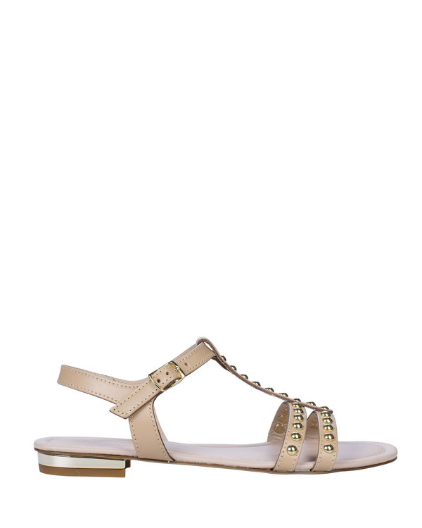 By Bianca 2210bb Kaelan Sandal Nude side view