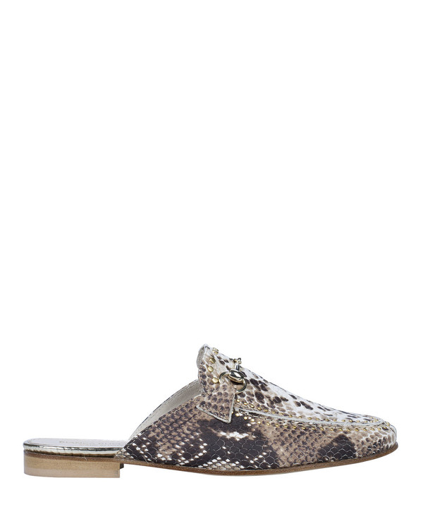 Bianca Buccheri 1097bb Hadi Loafer Snake side view