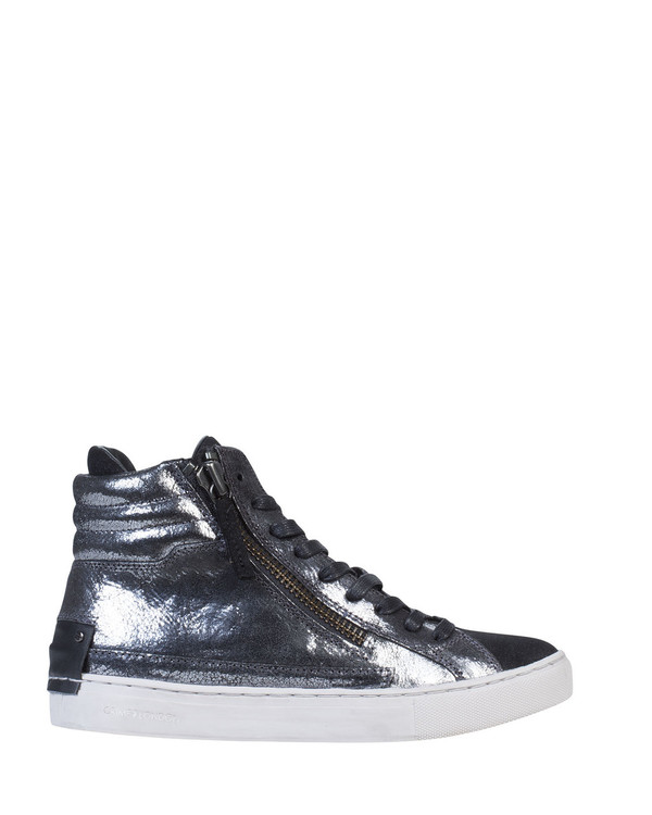 Crime LEOLAc Leola Sneaker Silver side view