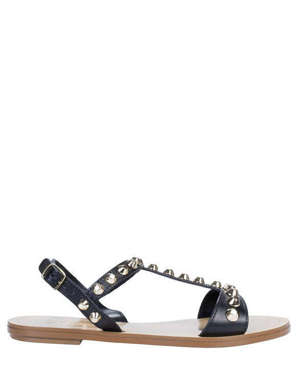 By Bianca 1997bb Samara Sandal Black side view
