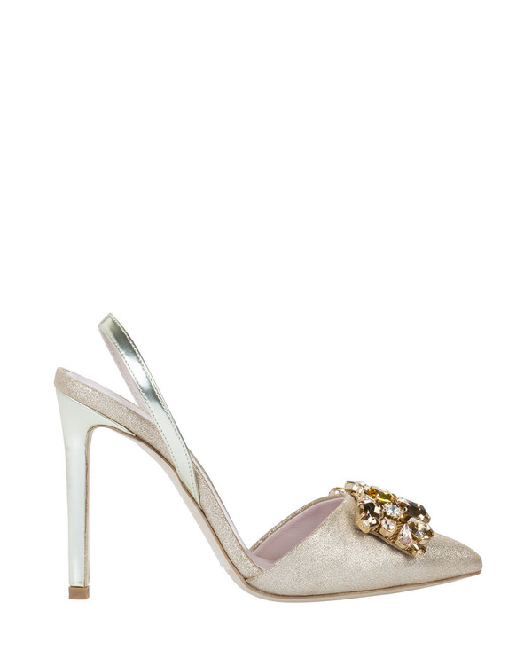 Bianca Buccheri 4007bb Diane Pump Beige side view