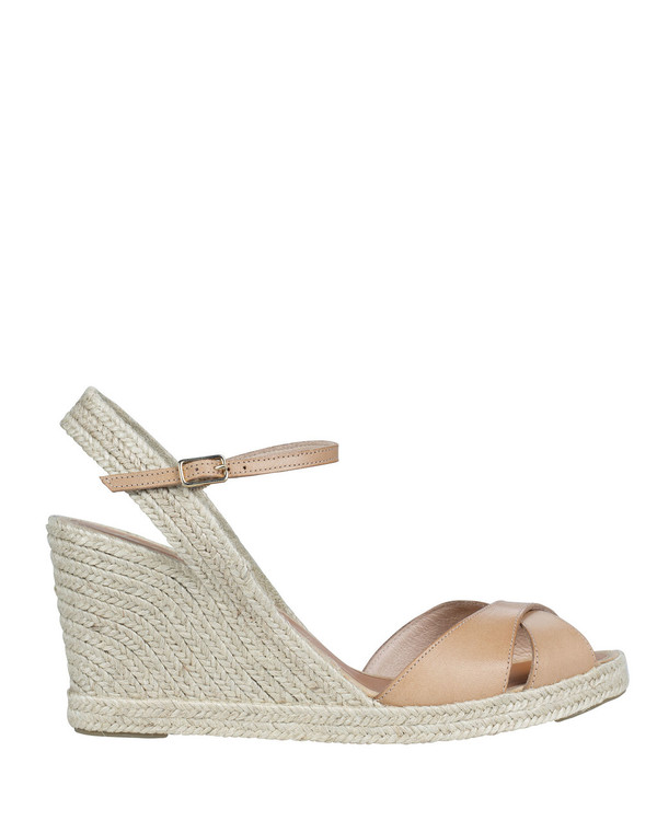 By Bianca Cortino Wedge Beige