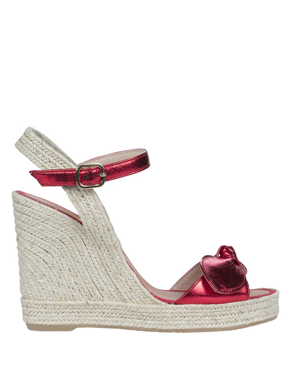 By Bianca Roseto Wedge Red