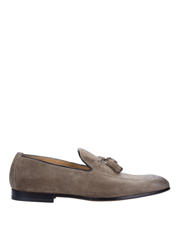 Doucals 1080Uf Mens Loafer Taupe