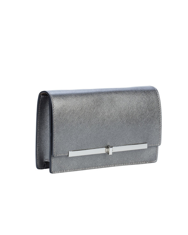 Gianni Chiarini Bs4766Gc Leather Bag Silver