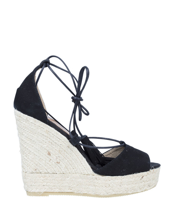 By Bianca 6035Bb Shona Wedge Black