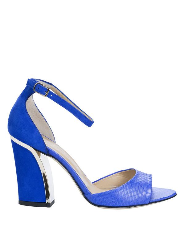 Bianca Buccheri 976bb Margarita Sandal Blue