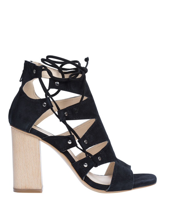 Bianca Buccheri Pe1643Bb Caprice Sandal Black