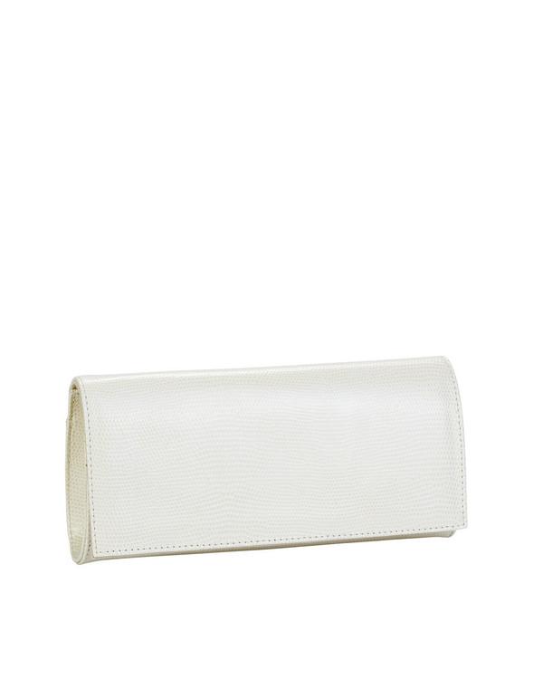 Bianca Buccheri 1385 Leather Bag Cream