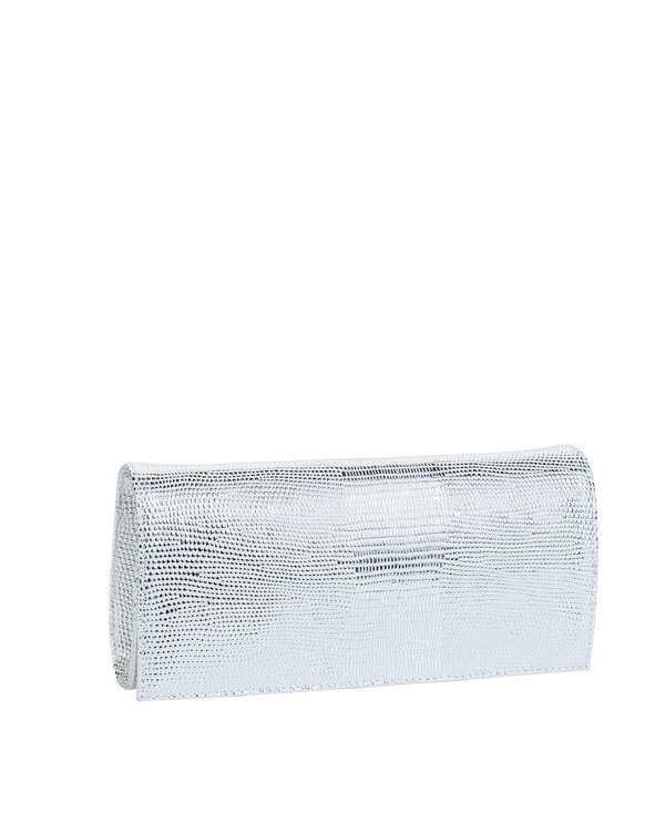 Bianca Buccheri 1385 Leather Bag Silver