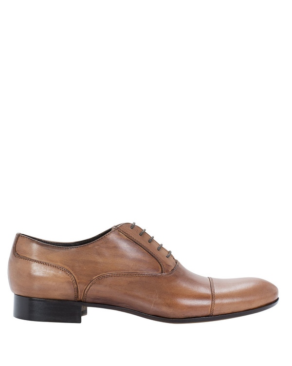Giovannetti Zeb2173 Mens Lace Up Tan