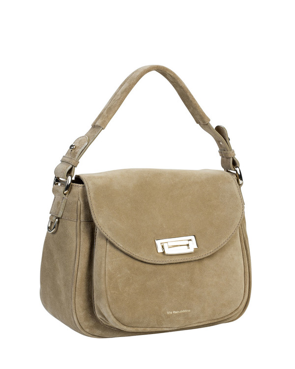 Via Repubblica VR9784 Leather Bag Camel
