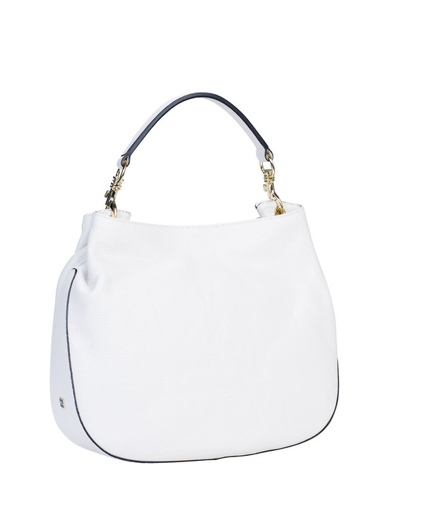Gianni Chiarini Bs4385Gc Leather Bag Cream