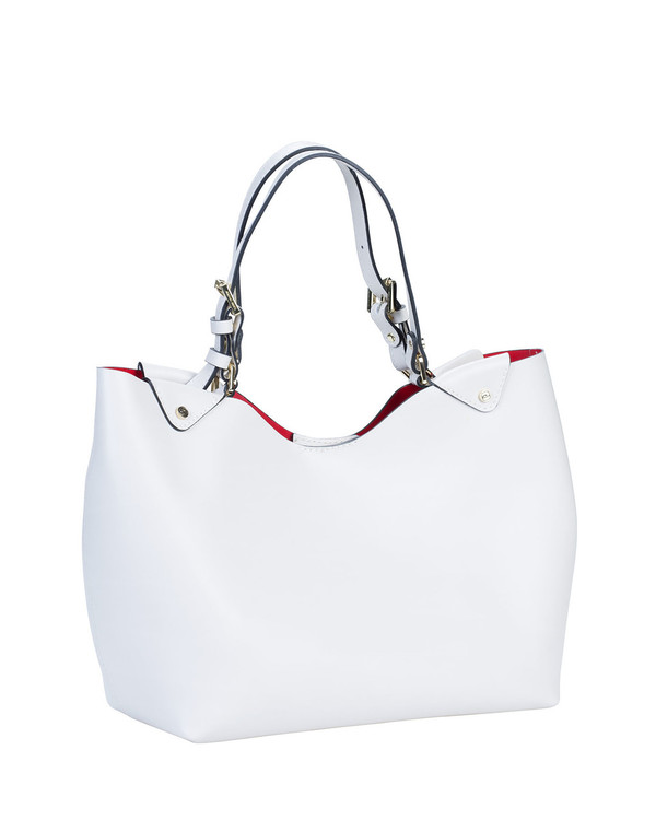 Gianni Chiarini Bs4920Gc Leather Bag White