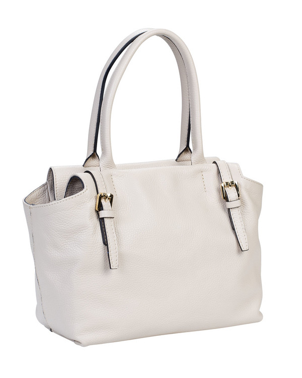 Gianni Chiarini Bs4985Gc Leather Bag Cream