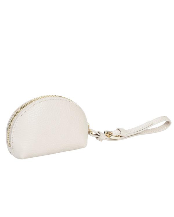 Gianni Chiarini Coinpurse Leather Bag Beige