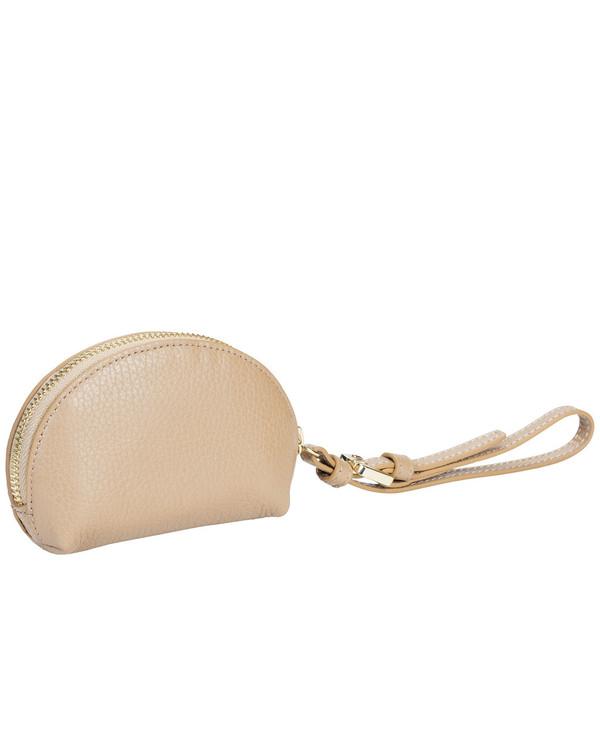 Gianni Chiarini Coinpurse Leather Bag Camel
