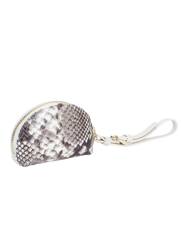 Gianni Chiarini Coinpurse Leather Bag Snake