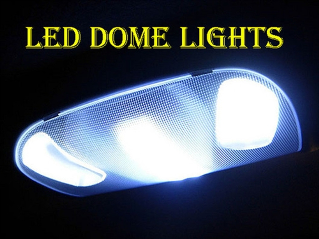 LED Interior Dome Lights, 1996 2012 Ford Truck, 264163