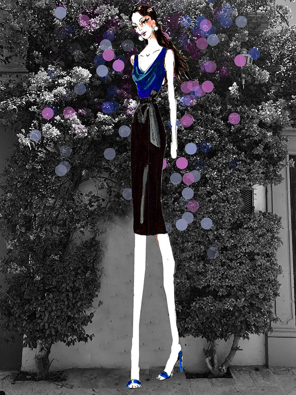The Susanna Dress /Navy