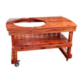Extra Large Big Green Egg Table