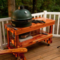 Long Table for Large Big Green Egg