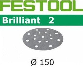 Festool Brilliant 2 | 150 Round | 40 Grit | Pack of 10 (496579)