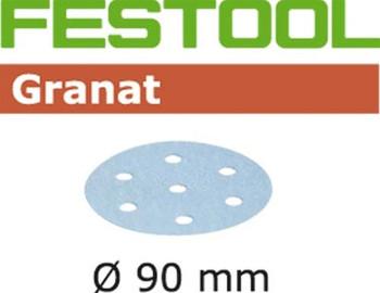 Festool Granat | 90 Round | 120 Grit | Pack of 100 (497367)