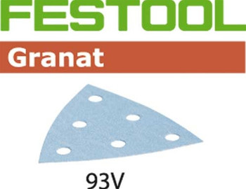Festool Granat | 93mm Delta | 400 Grit | Pack of 100 (497400)