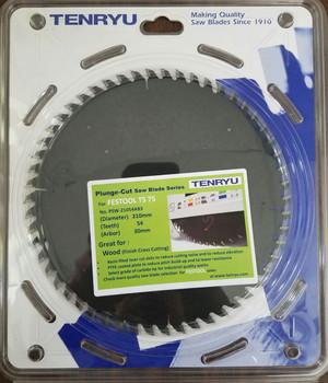 Tenryu PSW-21054AB3 Wood Fine Cross Cut (Fits Festool TS 75)