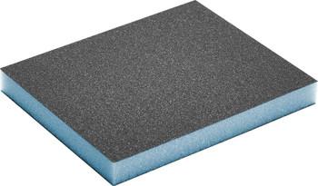 "Festool Granat | Double Sided Sponge 3-13/16"" x 4-23/32"" x 1/2"" | 120 Grit | 6 pcs (201113)"