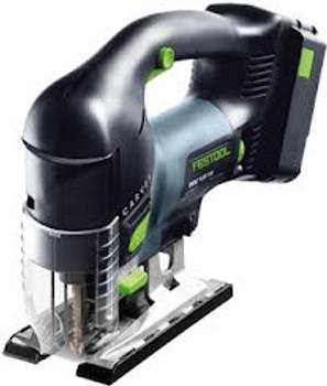 Festool Carvex PSBC 420 EB Li18v PLUS D-Handle Cordless Jigsaw (201385)