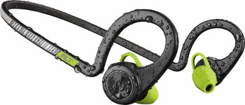 Plantronics - Backbeat FIT Wireless In-Ear Behind-the-Neck - Black core