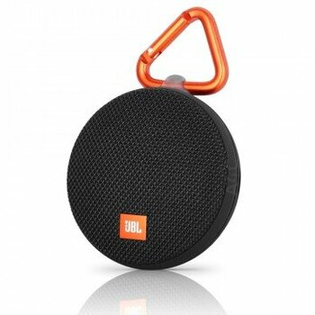 JBL Clip 2 Portable Bluetooth Speaker - Black