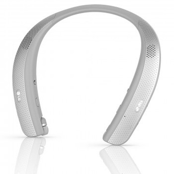 LG Tone Studio HBS-W120 Wireless Bluetooth In-Ear Headphones - Titan Gray