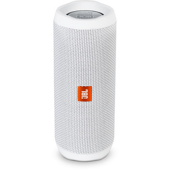 JBL Flip 4 Wireless Portable Stereo Speaker (White)