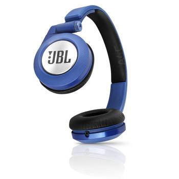 JBL Synchros E40BT On-Ear Bluetooth Headphones (Blue)