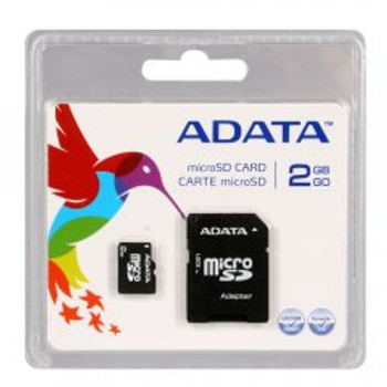 Adata 2GB microSD Memory Card with SD Adapter