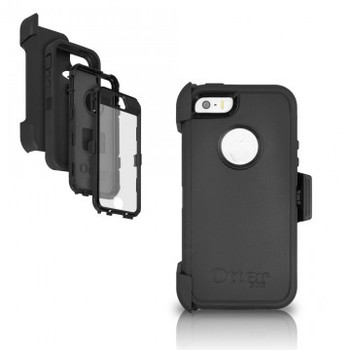 OtterBox iPhone 5/5s/SE Defender Black Case & Holster