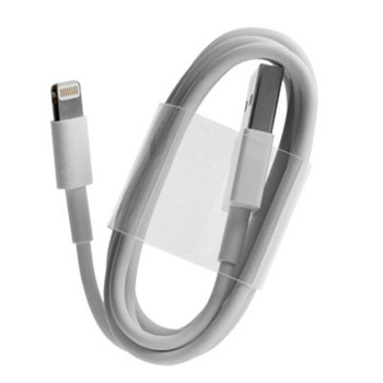 Original Apple iPhone 5 5S 6 7 Lightning to USB Cable - White