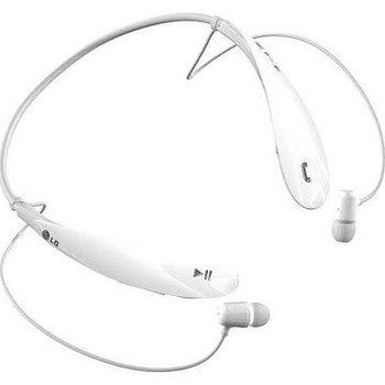 LG Tone Ultra HBS-800 White Bluetooth Stereo Headset