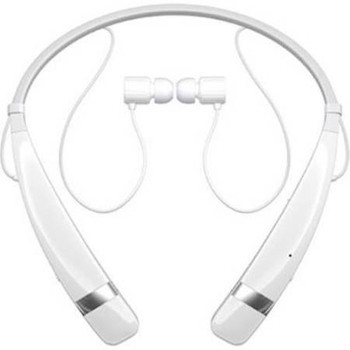 LG HBS-760 TONE PRO White Bluetooth Wireless Stereo Headset