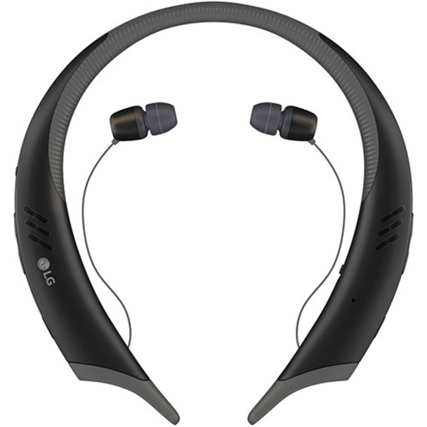 LG Tone Active+ HBS-A100 Wireless Stereo Bluetooth Headset - Black / Gray