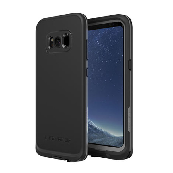 LifeProof - Fre Protective Water-resistant Case Samsung Galaxy S8 - Asphalt black