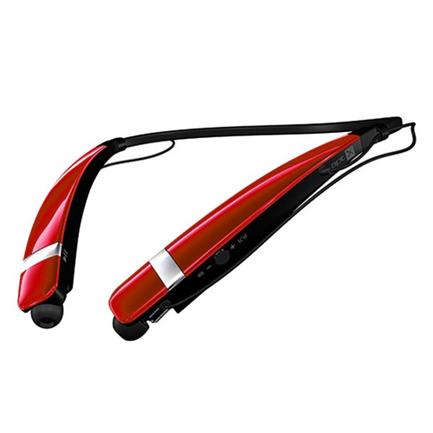 LG HBS-760 TONE PRO Red Bluetooth Wireless Stereo Headset