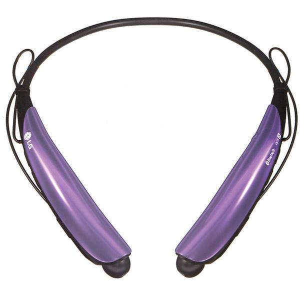 LG Tone Pro HBS-750 Purple Bluetooth Stereo Headset
